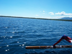 15 minutes in fisherman boat