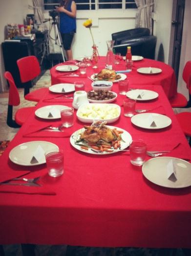 Christmas Dinner Set