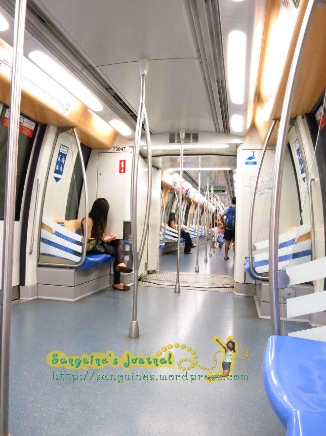 Ayo kesini, biar MRT gak sepi lagi. LOL