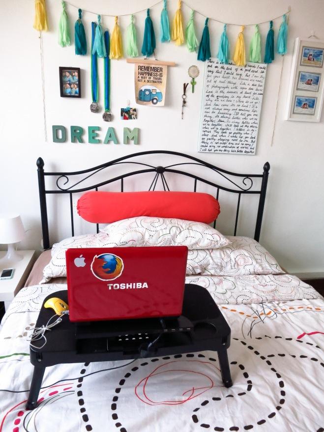 My spot! (just like Sheldon)