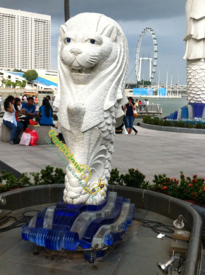 Merlion has Baby!