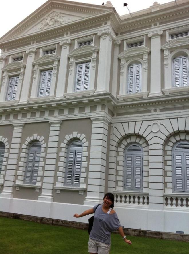 Di depan National Museum