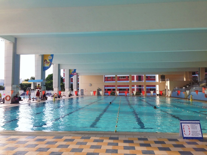 The swimming pool I always go to