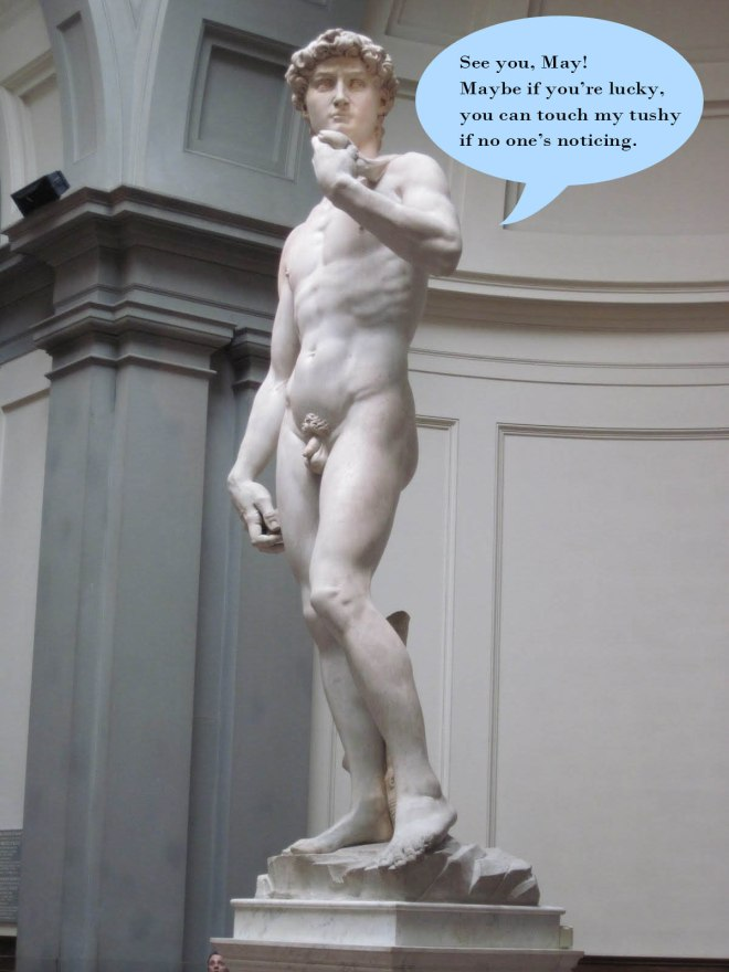 Awww David, stop it you!