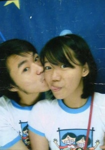 My favorite photobox with him. =)