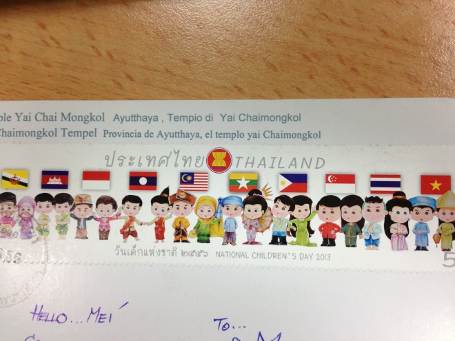 The cutest and the longest stamp ever!