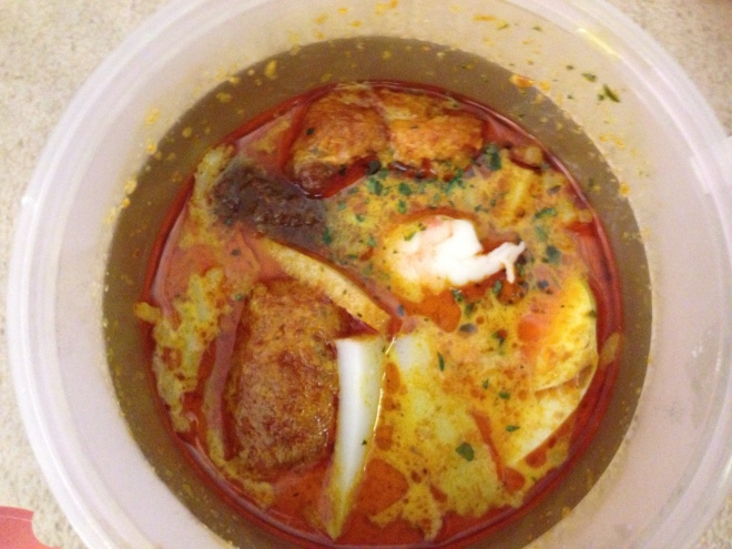 Gordon Ramsay's very first Laksa