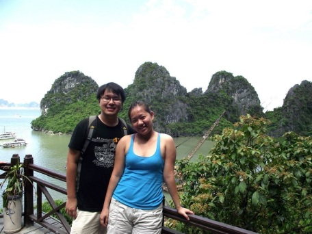 Photo taken on May 2012 on Halong Bay Vietnam.