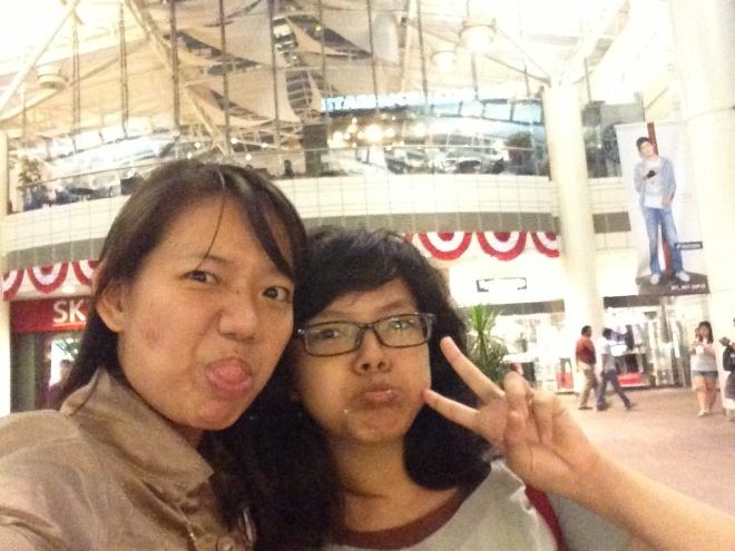 Chelle and Me, in Jurong Point.