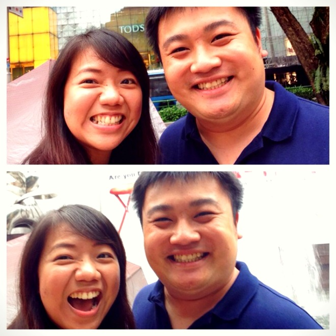 Keven and Me, at Orchard Road
