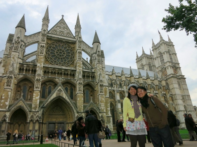Day 1, Still, Westminster Abbey. The most beautiful Gothic Church ever!