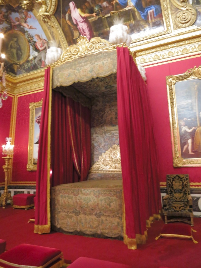 And the king's bedroom!