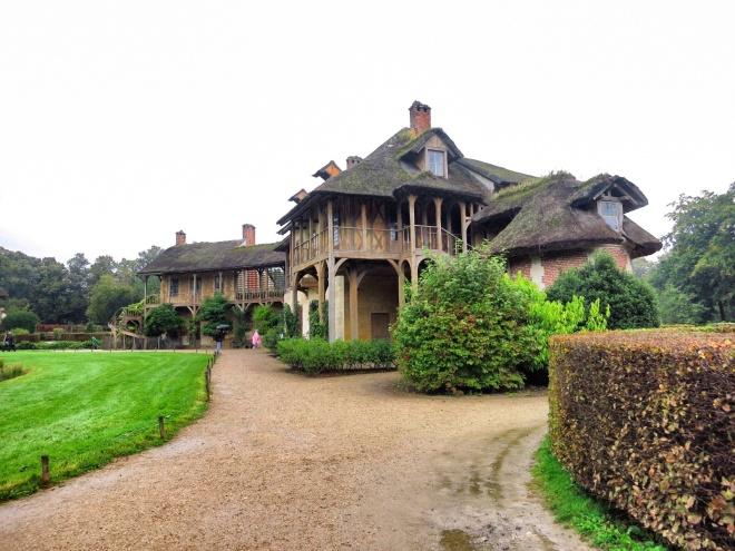 Marie Antoinette's houses.