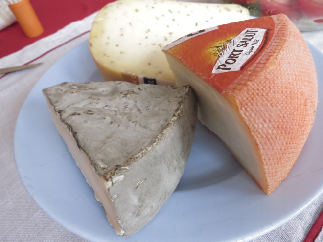 And the famous French cheeses!!!