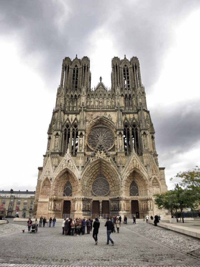 Notredame Cathedral of Reims. =)