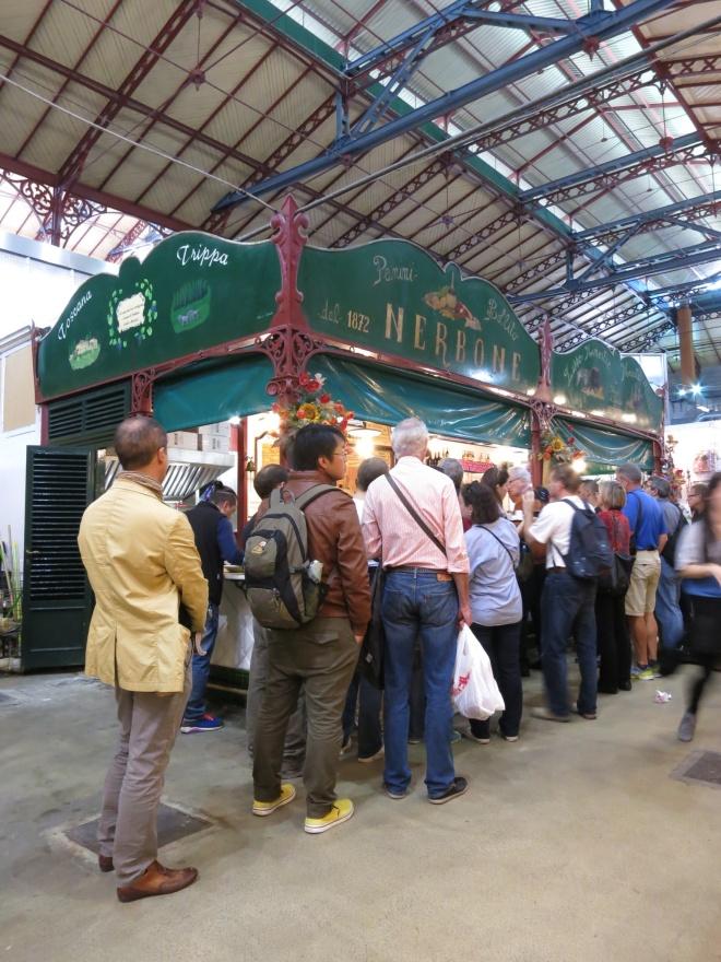 Bandi jajan di Pasar