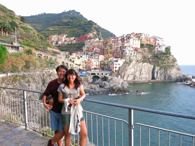 Manarola, my favorite town of all five.
