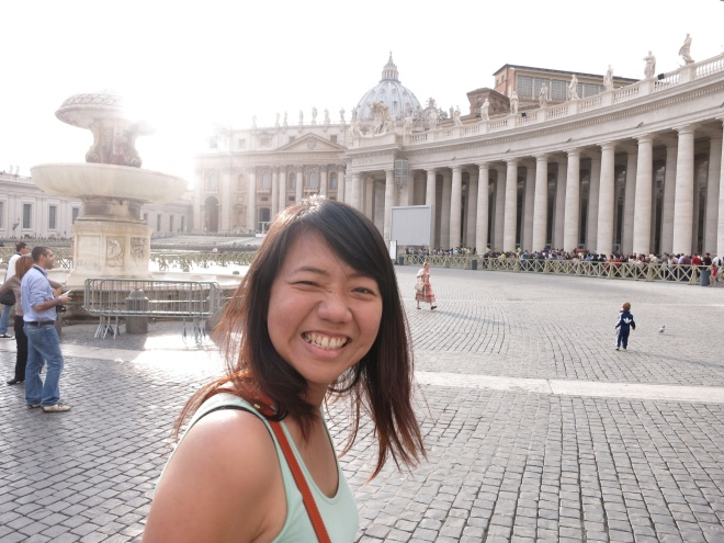 Vatican City. Amazingly beautiful.