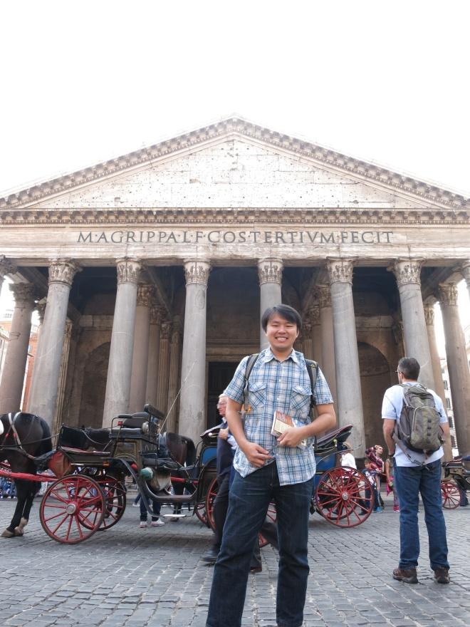 The most remarkable building in history. Pantheon. 2000 years old and succeeded to make me cry because of its beauty.