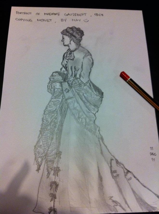 Copy-ing Monet. =)