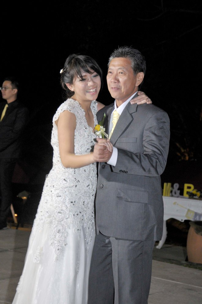 First it was a Father and Daughter Dance. :)