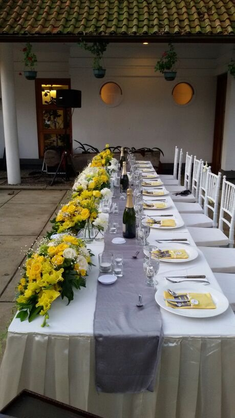 Head table!