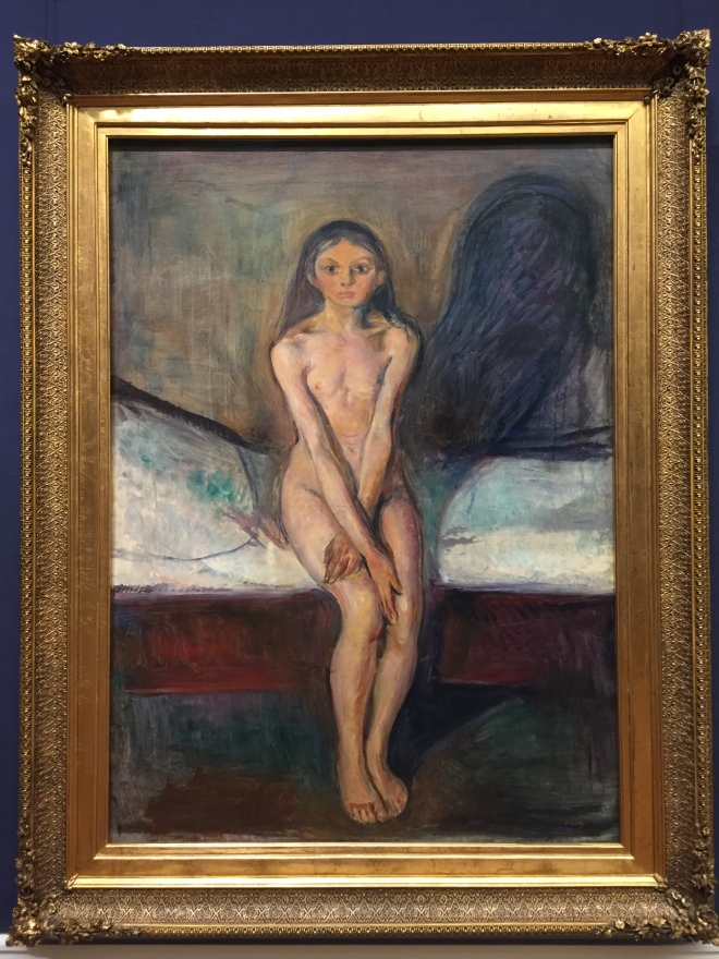 """Puberty"" By Edvard Munch."