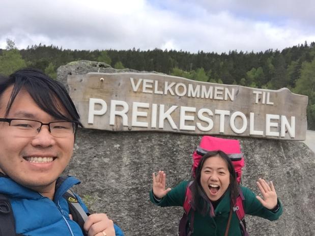 Hiking the Pulpit Rock(Preikestolen)