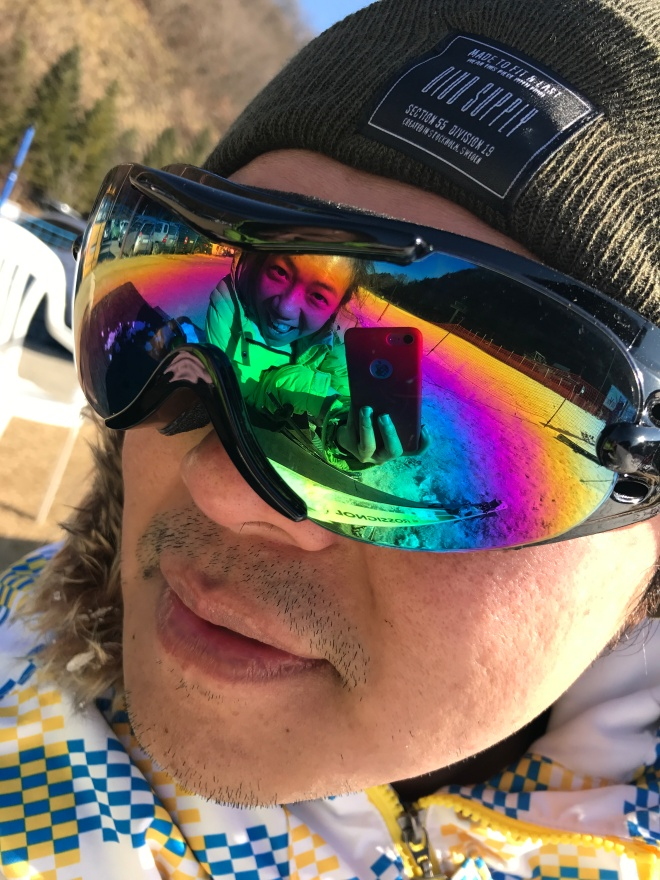 Selfie in goggles!